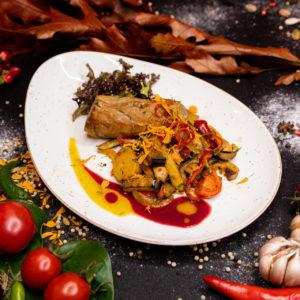 Горячие блюда из птицы и мяса